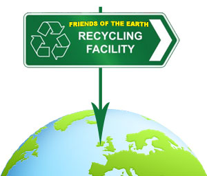 Friends Of The Earth Recycling Centre